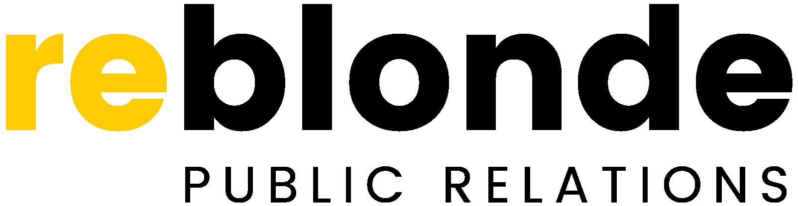 Reblonde B2B Public Relations Logo