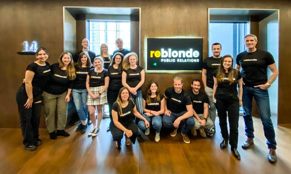 The ReBlonde Team PR Services for ICO